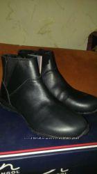 Новые кожаные ботиночки Kangol