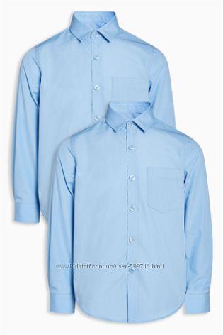Рубашки школьные длинный рукав