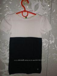 Фирменное платье BENETTON XXS 100см
