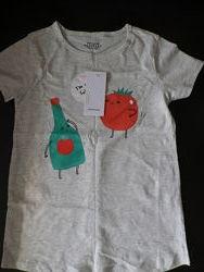 Фирменные футболочки Zara Reserverd Koton