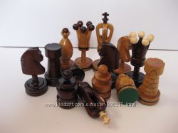 Шахматные фигуры Королевские инкрустированные - для досок 48х48см и 54х54см