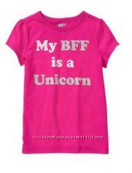 Нарядні футболки для дівчинки Crazy8 США