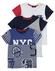 Стильний набір футболок George Англія розмір 134-140 ціна за набір