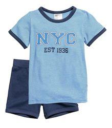 Піжама для хлопчика H&M розмір 110-116