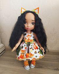Дисней аниматор - красивые платья на куколок