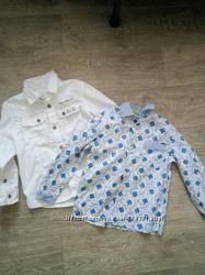 Рубашки моднику 3-5 лет