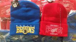 Шапки для хоккейной команды хоккей