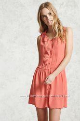 Нежное платье Forever 21 S M L легкое, красивое