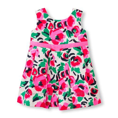 Children&acutes Place нарядное платье для девочки 3Т