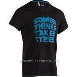 Фирменная новая мужская футболка тм DOMYOS р. S, европейское качество