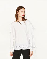 Новая оригинальная блузка Zara  привезена из Испании р. М
