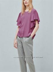 Блуза с воланами. Mango. S. Новая