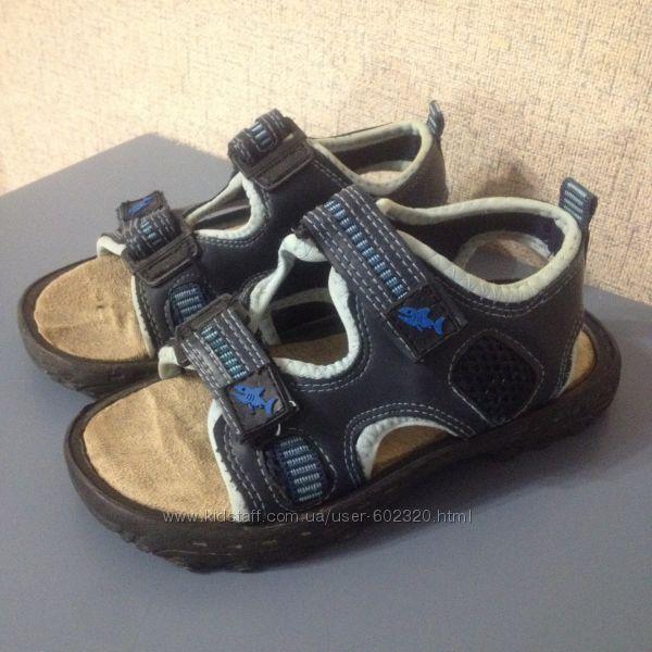 Босоножки Bobbi Shoes для мальчика, р. 28-29, Германия