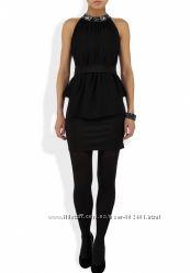 Новое черное маленькое коктейльное платье Kira Plastinina Кира Пластинина