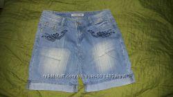 Шорты джинсовые голубые S-M