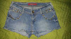 Шорты джинсовые S