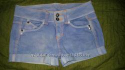 Шорты джинсовые голубые С