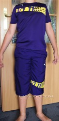 Спортивный костюм Puma оригинал, штаны Nike, верх Adidas рост 128-140