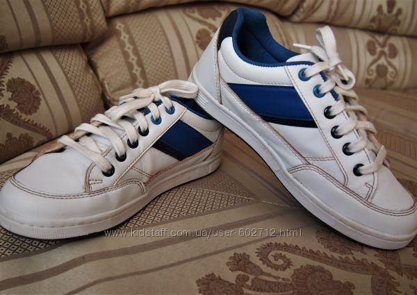 Стильные слипоны на шнурках, кроссовки, туфли Waikiki р. 36 -23, 5см