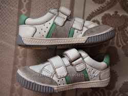 Кожаные туфли, мокасины сникеры NOL Франция р. 25, ст 15, 5 см