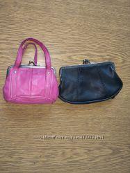 Кожаный кошелёк, второй в подарок