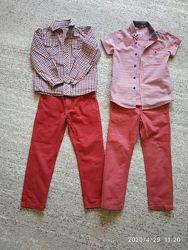Плотные джинсы на мальчика 6 лет