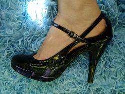 Лаковые туфли 27 см стелька, фирменные  new look