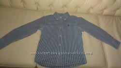 Рубашка Benetton на мальчика 9-10 лет.