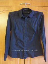 Рубашка черная Sela р. M-L