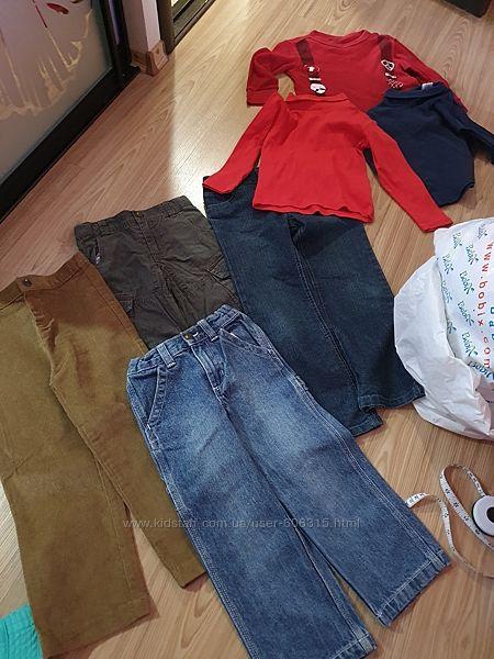 Пакет весенней одежды мальчику 4-5л