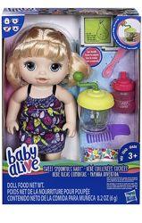 Baby Alive Sweet Spoonfuls кукла ест писает подгузник