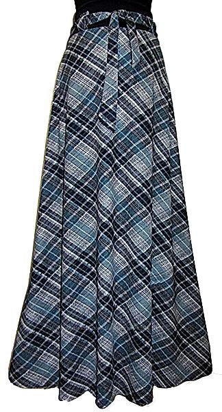 Женская длинная   юбка .  42-58.