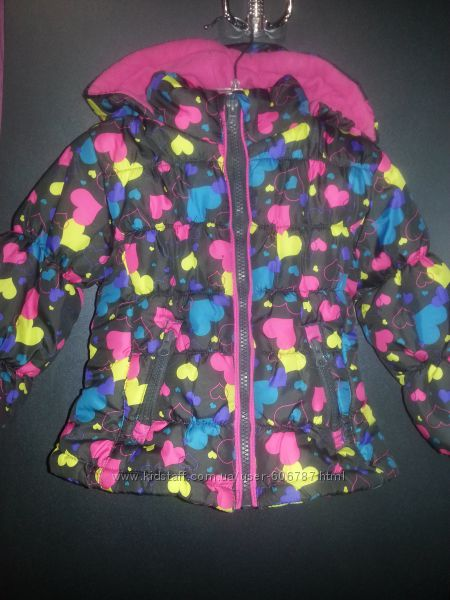 Яркая куртка London Fog размер 2Т