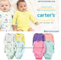 Carters набор боди Картерс