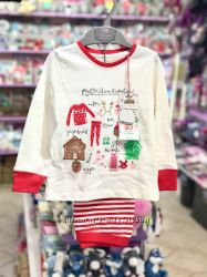 Пижамы новогодние Mothercare