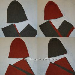 Продам двусторонний деминабор шапка и хомут