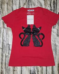 Monte Cervino Италия стильные футболки
