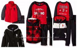Костюмы комплекты худи куртки U. S. Polo Assn оригинал размеры 2Т 4Т 5 6