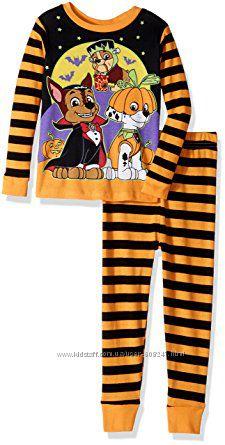 Пижама 1 2 3 года EU 80 86 92 Щенячий патруль Paw Patrol Хеллоуин Новый год
