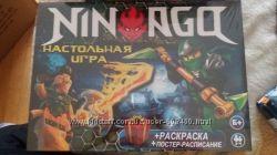 Настольная игра, ходилка Монополия Ниндзяго, Щенячий патруль Лото