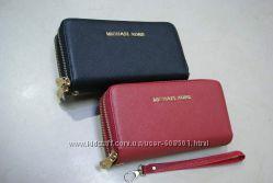 Michael Kors стильный женский кошелёк клатч , две молнии