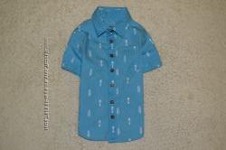 Много рубашек с коротким рукавом 1-3г