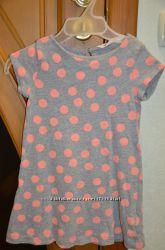 Красивое платье H&M, р. 98-104