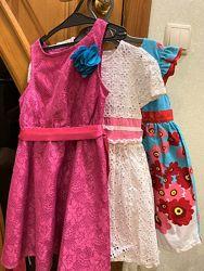 Красивые платья на девочку 4-5 лет
