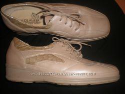8 - 27 см кожаные  туфли  большого  размера ф. Waldlaufer