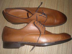 44 - 29 см  кожаные  туфли  ф. Zara  man