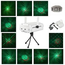Лазерный проектор стробоскоп лазер с узорами