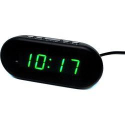 Электронные настольные часы с будильником vst-712