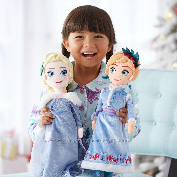 NEW 2017 Плюшевая кукла - принцесса Анна Frozen Adventure Dis