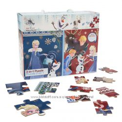 Пазлы 2 в 1 оригинал Frozen Two-Sided Puzzle - 32 Pieces